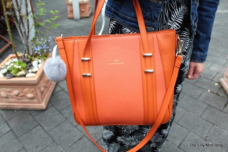 Karen Walker Shopper Tote Handbag