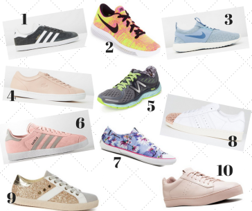 10 of the Hottest Sneakers You Need Now!