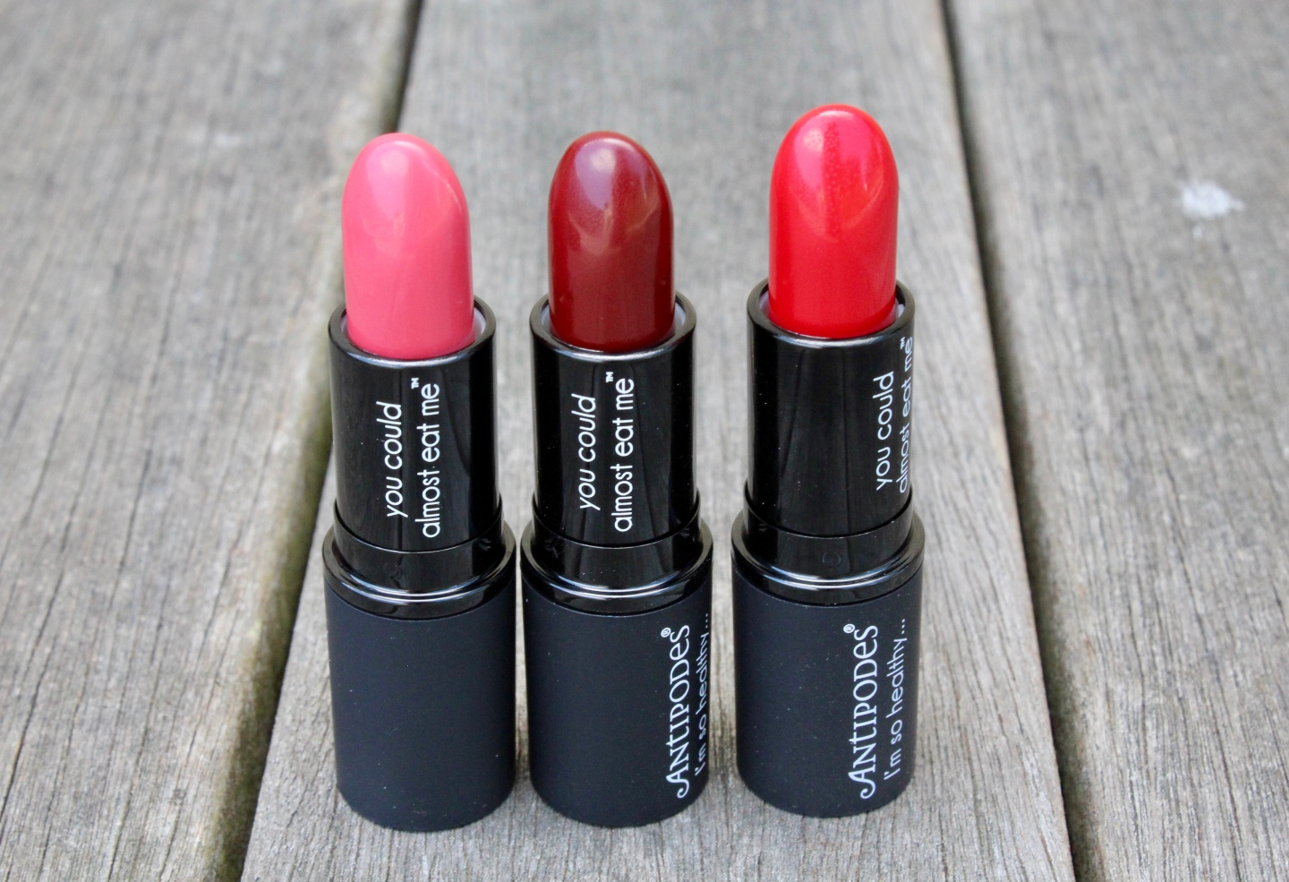 Antipodes Healthy Lipsticks