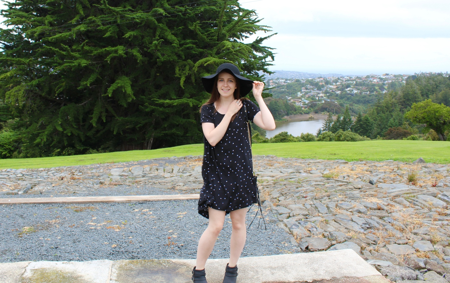 The Glassons Heart Printed Dress - NZ Fashion Blogger