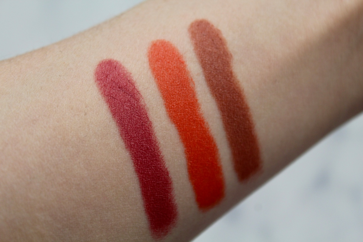 Antipodes Healthy Lipsticks Swatches